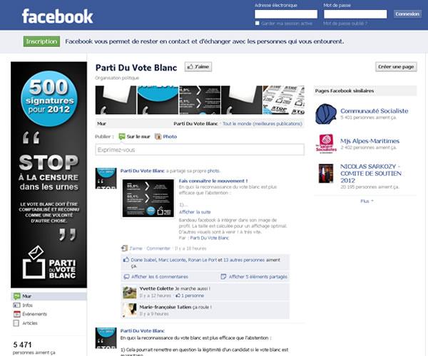 +6000 fans sur Facebook