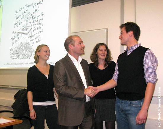 Debat sur le Vote blanc à l'Ecole des Mines de Nantes