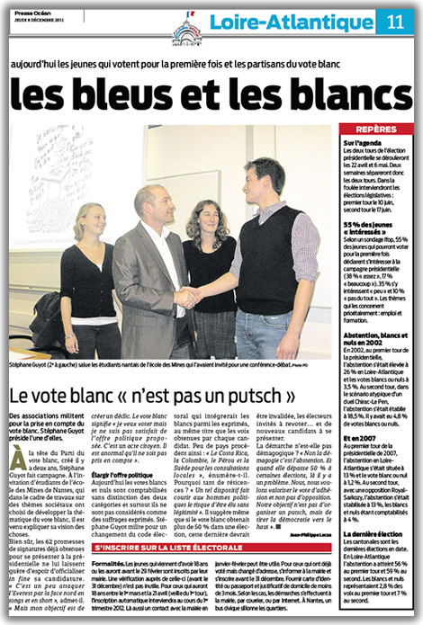 Article de Presse Océan