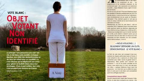Vote Blanc: Objet Votant Non Identifié