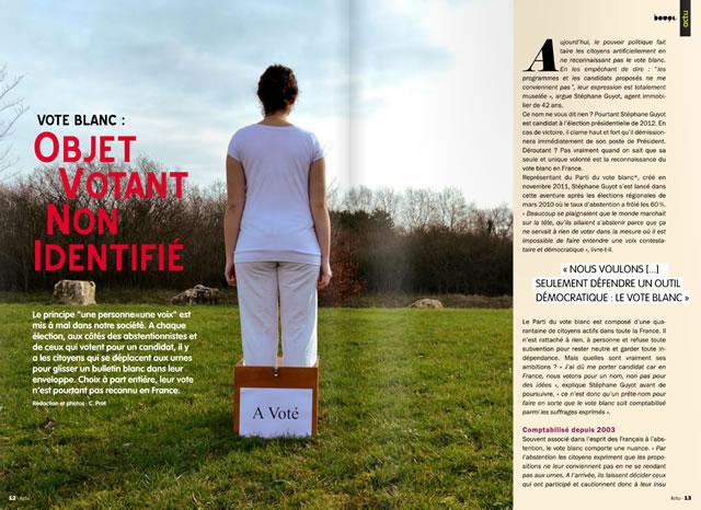 """Le numero 42 du Magazine """"Bouge"""" édité par Radio Pulsar !"""