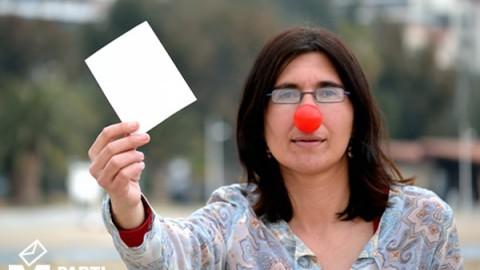 Nathalie Colucci soutient le Vote Blanc