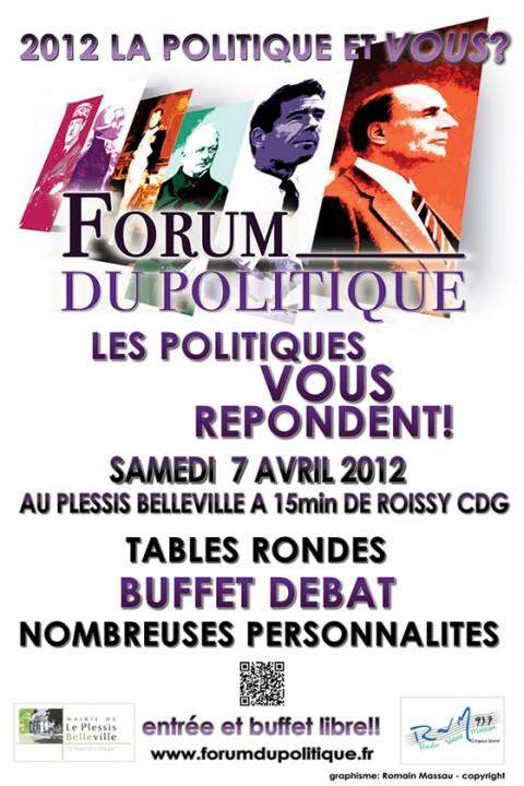 RDV : Forum du Politique