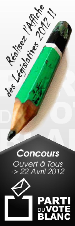 Concours Affiches Législatives 2012 !