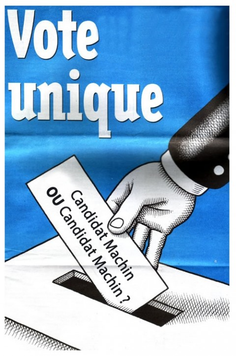 Le vote unique !