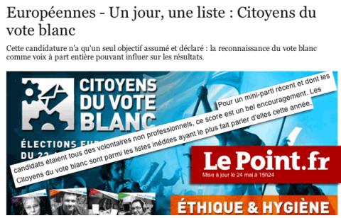 Le Point – 22 mai 2014