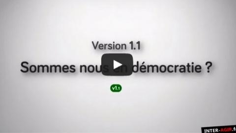 Comprendre : sommes nous en démocratie ?