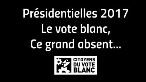 Le vote blanc : grand absent aux présidentielles 2017