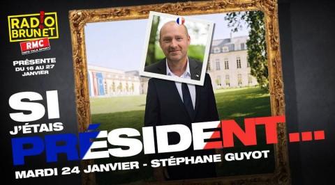 Stéphane Guyot sur RMC avec Eric Brunet