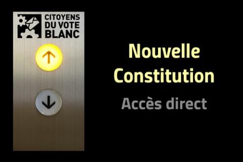 Notre projet : un ascenseur vers une nouvelle constitution