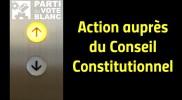 Le PVB interpelle le Conseil Constitutionnel