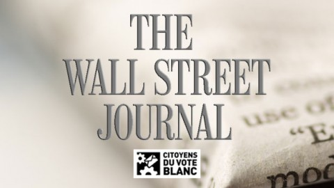 Le Parti du Vote Blanc dans le Wall Street Journal