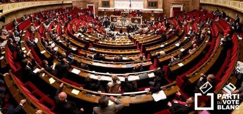 Vote Blanc et Assemblée Nationale