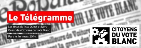Article du Télégramme Quimper.