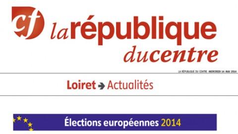 La République du Centre – 14 mai 2014