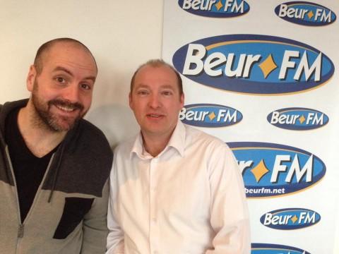 Stéphane Guyot invité sur Beur FM radio autour du vote blanc.