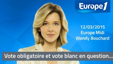 Vote obligatoire et vote blanc sur Europe 1