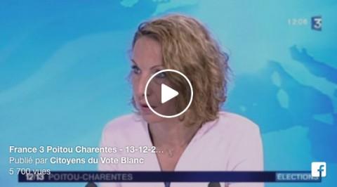 Magali Delamour sur France 3 Poitou