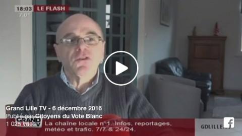 Grand Lille TV – 6 décembre 2016