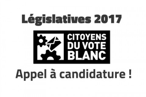 Législatives 2017, Appel à candidatures