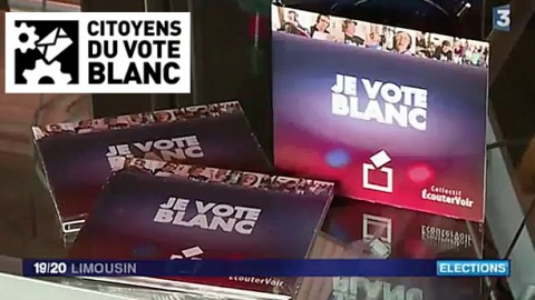 """France 3 parle de la chanson """"Je Vote Blanc"""""""