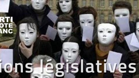 Le Parti du Vote Blanc présente des listes aux législatives